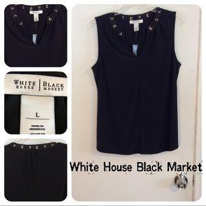 White House Black Market Tops - 🆕White House Black Market Black Top